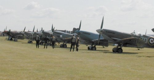 Spitfire and Hurricane Line Up